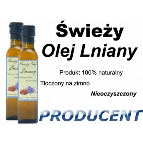 Dwa Oleje Lniane 2x1L