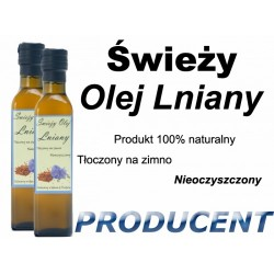 Dwa Oleje Lniane 500ml